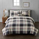 Cuddl Duds Lodge Plaid Comforter Set