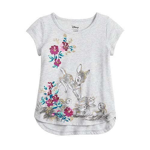 Disney's Bambi Toddler Girl Glitter Graphic Top by Jumping Beans®