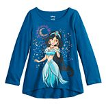 Disney's Aladdin Toddler Girl Glittery Jasmine Graphic Tee by Jumping Beans®