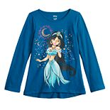 Disney's Aladdin Girls 4-12 Glittery Jasmine Graphic Tee by Jumping Beans®