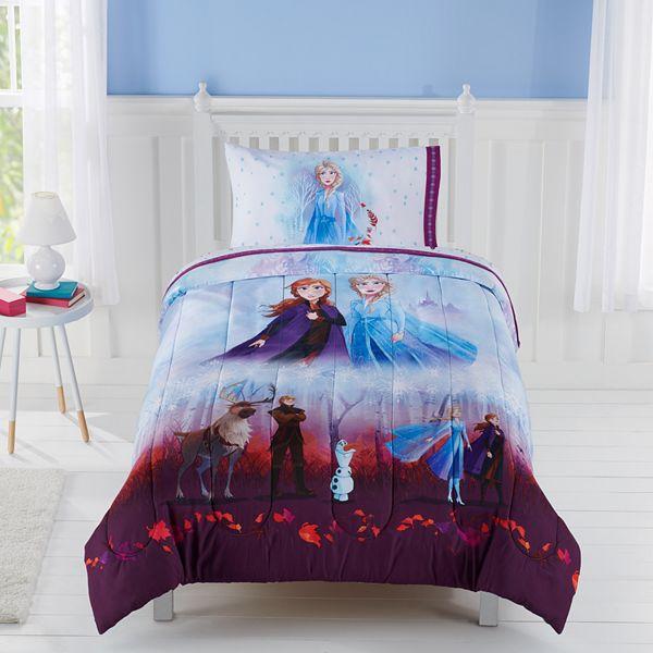 Frozen 2 Comforter By Jumping Beans, Elsa Bedding Set Queen