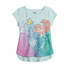 0638147db57033 Disney's The Little Mermaid Ariel Toddler Girl Sequin Graphic Tee by  Jumping Beans®