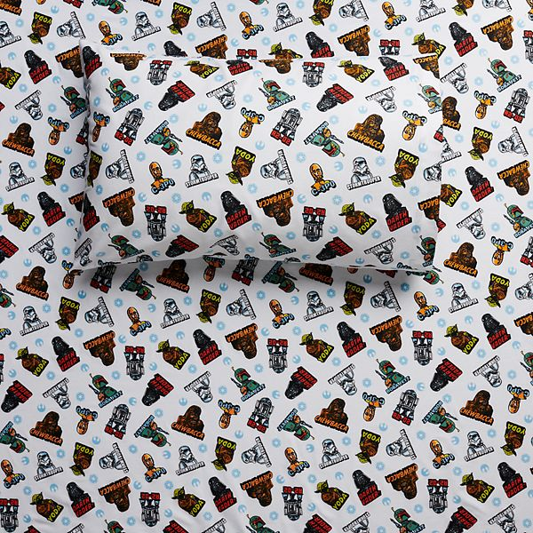 Star Wars Flannel Sheet Set