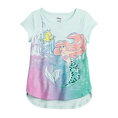 e121d90c3918af Disney's The Little Mermaid Ariel Girl 4-12 Sequin Graphic Tee by Jumping  Beans®