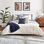 Scott Living Luxe Deco Fan Comforter Set with Shams