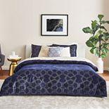 Scott Living Luxe Lustre Velvet Comforter Set with Shams