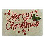 St. Nicholas Square® Merry Christmas Bath Rug