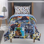 Star Wars Cozy Plush Reverse Comic Comforter