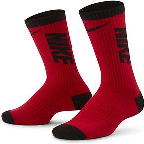 Boys 5-7 Nike 3-Pack Colorblock Crew Socks