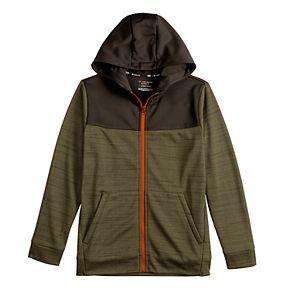 Boys 8-20 Tek Gear Performance Fleece Full Zip Hoodie in Regular & Husky