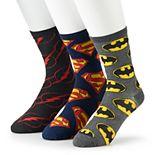 Men's DC Comics 3-pack Crew Socks Gift Box