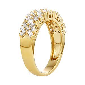 Simply Vera Vera Wang 3/4 Carat T.W. Diamond Baguette Ring