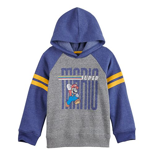Boys 4-12 SONOMA Goods for Life™ Super Mario Retro Softest Fleece Sweatshirt