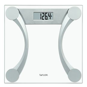 Taylor Digital Glass Scale with Metallic Accents