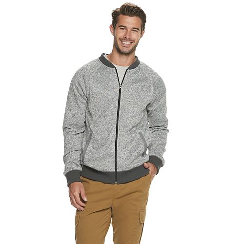 Men's SONOMA Goods for Life™ Bomber Sweater Fleece