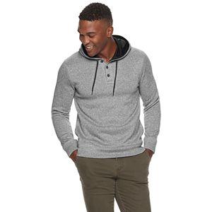 Men's SONOMA Goods for Life Sweater Fleece Henley Hoodie