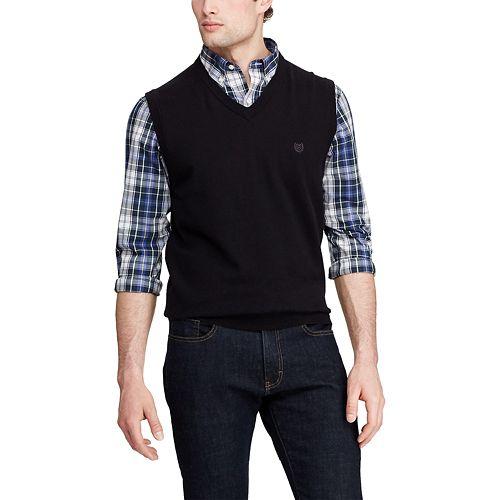 Men's Chaps Classic-Fit V-Neck Sweater Vest