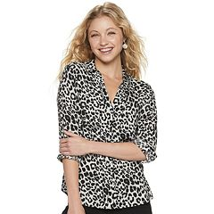 0b9fc39e385 Juniors Blouses Long Sleeve Shirts & Blouses - Tops, Clothing | Kohl's