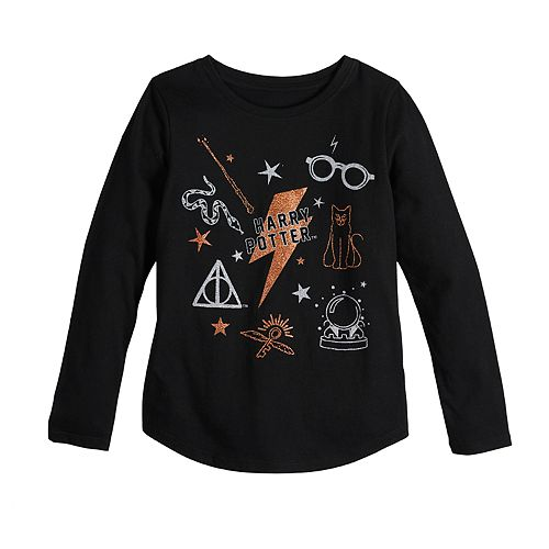 Girls 7-16 Harry Potter Long Sleeve Graphic Tee