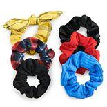SO® Multi Color Scrunchie Set