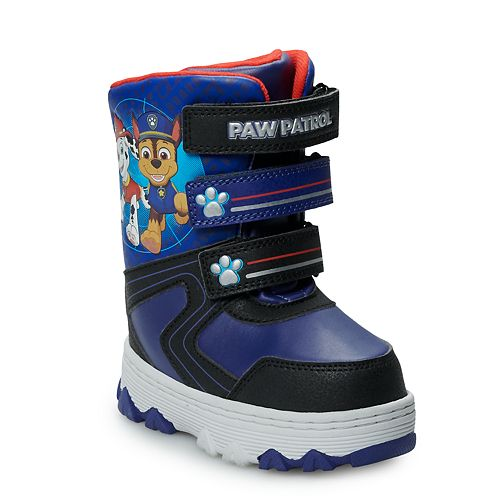 Paw Patrol Chase & Marshall Toddler Boys' Winter Boots