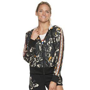 Women's adidas Farm Print Hooded Zip Up Jacket