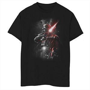 Boys 8-20 Star Wars Dark Lord Tee