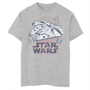 Boys 8-20 Star Wars Falcon Rays Tee