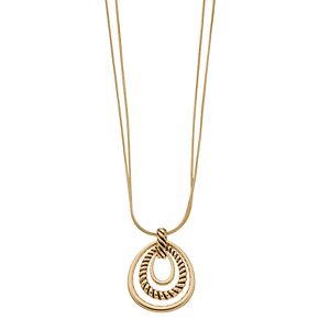 Napier 28-in. Gold-Toned Pendant Necklace