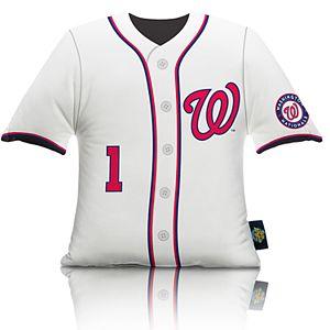 Washington Nationals Big League Uniform Pillow