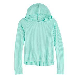 Girls 7-16 & Plus Size Mudd Thermal Hoodie