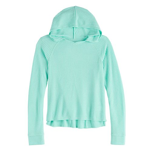 Girls 7-16 & Plus Size Mudd® Thermal Hoodie