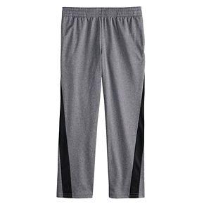 Boys 8-20 Tek Gear® Tricot Forward-Panel Pants in Regular & Husky
