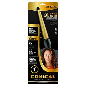 "Andis 1"" Conical Curling Iron Wand"