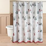 St. Nicholas Square® Snowman Friends Shower Curtain