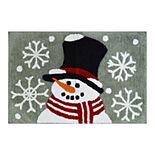 St. Nicholas Square® Snowman Bath Rug