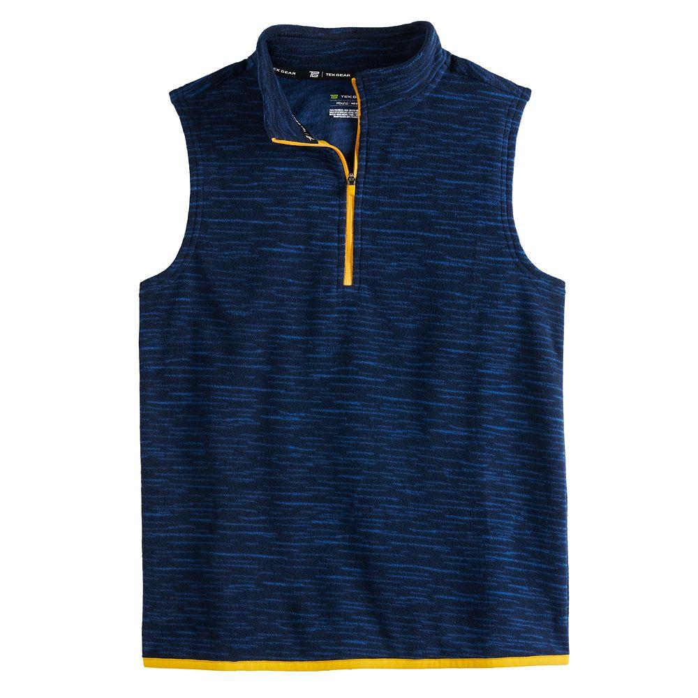 Boys 8-20 Tek Gear® Microfleece Quarter-Zip Vest in Regular & Husky