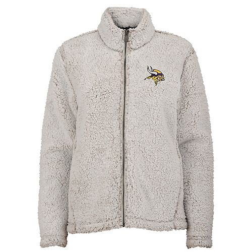 buy popular 536a7 8425e Women's Minnesota Vikings Intercepting Sherpa Jacket