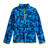 Boys 8-20 Tek Gear® Microfleece Quarter-Zip Pullover in Regular & Husky