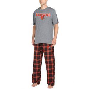 Men's Cleveland Browns Pajama Set