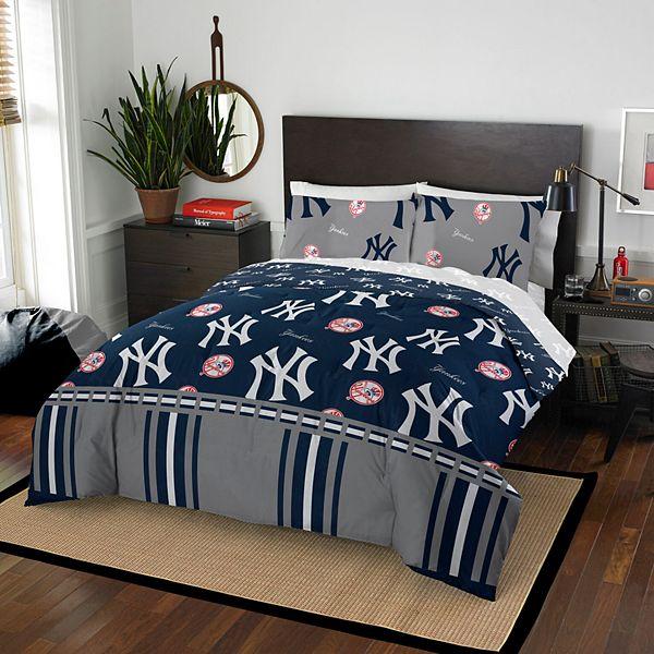 New York Yankees Queen Comforter Set, New York Yankees Queen Bedding