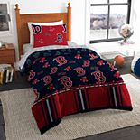 Boston Red Sox Twin Comforter Set