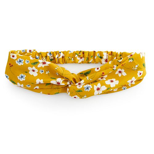 SO® Floral Soft Headband