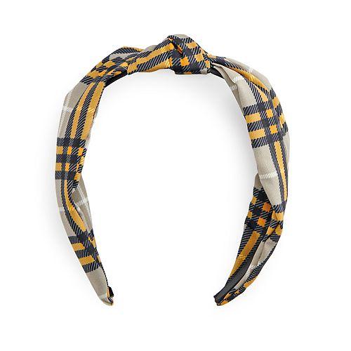 SO® Plaid Headband