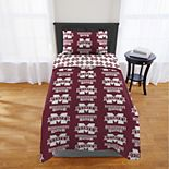 Mississippi State Bulldogs Twin Comforter Set