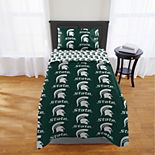 Michigan State Spartans Twin Comforter Set