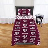 Texas A&M Aggies Twin Comforter Set