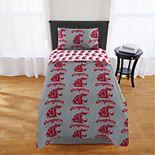 Washington State Cougars Twin Comforter Set