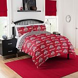 Ohio State NCAA Queen Bed Set by Northwest