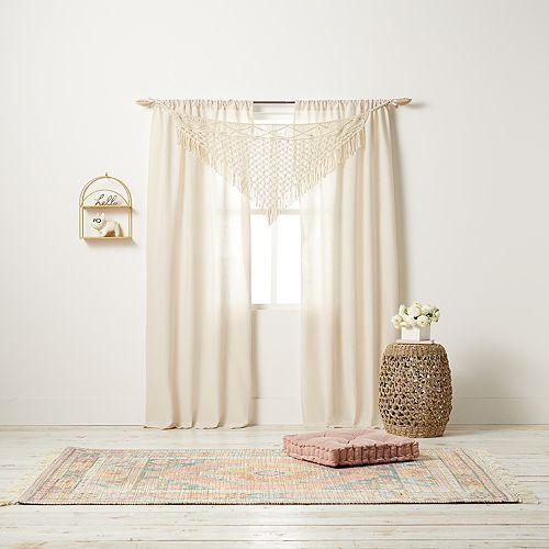 Lc Lauren Conrad Kylo 3 Piece Window Curtain Set by Lc Lauren Conrad